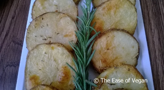Crispy Golden Roasted Potato Rounds