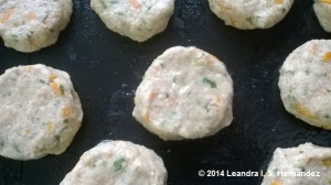 veggie patties ready for baking